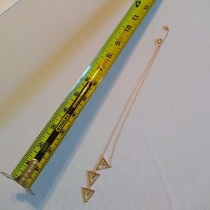 Stella & Dot Jewelry - Stella & Dot Multi-Tier Triangle Necklace